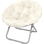 Urban Shop Mongolian Fur Papasan Chair