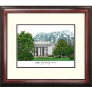 Campus Images NCAA Brigham Young  University Alumnus Lithogrpah Framed Photographic Print