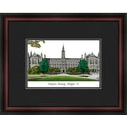 Campus Images NCAA Georgetown University Academic Lithograph Framed Photographic Print