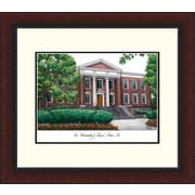 Campus Images NCAA Akron University Legacy Alumnus Lithograph Framed Photographic Print