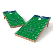Tailgate Toss NFL Football Field Cornhole Game Set; Indianapolis Colts