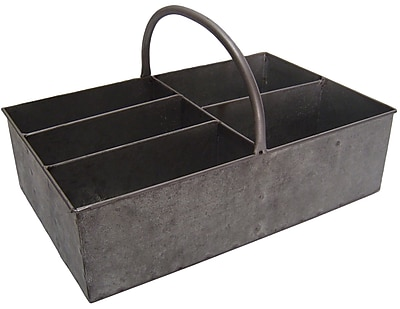 Cheungs Metal Rectangular 5 Slot Storage Caddy