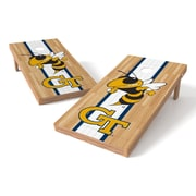 Tailgate Toss NCAA Georgia Institute of Technology Yellow Jackets Hardwood Cornhole Game Set