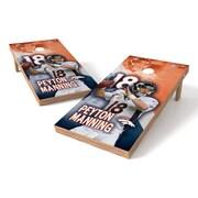 Tailgate Toss NFLPA Broncos Peyton Manning Cornhole Game Set