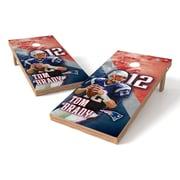 Tailgate Toss NFLPA NE Patriots Tom Brady Cornhole Game Set