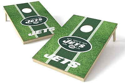 Tailgate Toss NFL Cornhole Game Set; New York Jets WYF078278970922