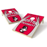 Tailgate Toss NCAA Cornhole Game Set; Boston University Terriers