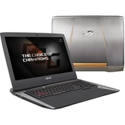 "ASUS® ROG G752VY-DH78K 17.3"" Gaming Laptop, LCD-LED, Intel i7-6820HK , 1TB HDD/2x256GB SSD, 64GB RAM, WIN 10, Titanium"