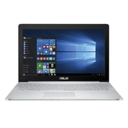 "ASUS® ZENBOOK Pro UX501VW-XS74T 15.6"" Laptop, LCD-LED, Intel i7 6700HQ, 512GB HDD, 16GB RAM, WIN 10 Pro, Silver"