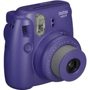 Fujifilm Instax Mini 8 Instant Film Camera Bundle, 60 mm, Grape