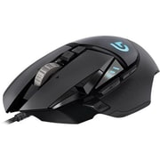 Logitech® Proteus Spectrum Optical Wired RGB Tunable Gaming Mouse, Black (910-004615)