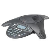 Polycom® Soundstation2™ 2200-16200-001 1-Line Expandable Conference Phone with Display, Black