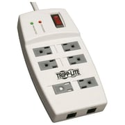 Tripp Lite Protect It! TLP66NETAA 6-Outlet 1080 J Surge Suppressor, 6'