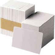 "Zebra® Premier Blank PVC ID Card, 2.13"" x 3.38"", White (104523-116)"