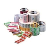 """Zebra® Z-Perform 1000D Permanent Adhesive Direct Thermal Label, 2"""" x 2"""", Bright White, 36 Rolls/Pack (LD-R7AO5B)"""
