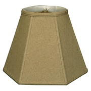 RoyalDesigns Timeless 10'' Linen Empire Lamp Shade; Cream