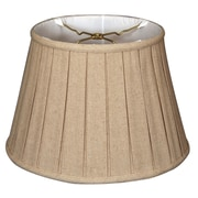 RoyalDesigns Timeless 19'' Linen Empire Lamp Shade; Cream