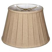 RoyalDesigns 14.5'' Timeless Linen Empire Lamp Shade; Cream