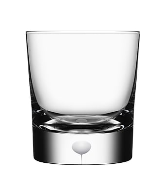 Orrefors Intermezzo Old Fashioned Glass; Satin