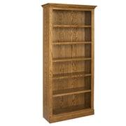 A&E Wood Designs Britania 84'' Standard Bookcase; Light