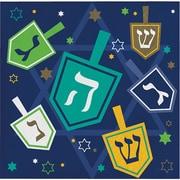 Creative Converting Hanukkah Beverage Napkins, 16 pack (317191)