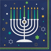 Creative Converting Hanukkah Napkins,16 pack (317192)