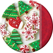 Creative Converting Holiday Treats Plates, 8 pack (426937)