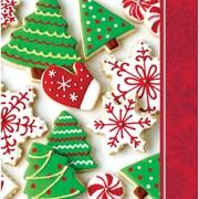 Creative Converting Holiday Treats Napkins, 16 pack (666937)