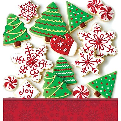 Creative Converting Holiday Treats Plastic Tablecloth 726937
