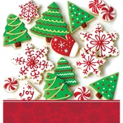 Creative Converting Holiday Treats Plastic Tablecloth (726937)