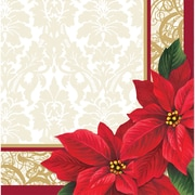 Creative Converting Poinsettia Lace Napkins, 16 pack (317119)