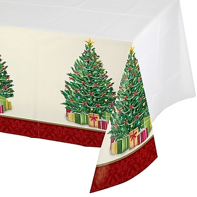 Creative Converting Perfect Pine Plastic Tablecloth 317144