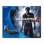 PlayStation 4 Uncharted Limited Edition Console Bundle, 500GB