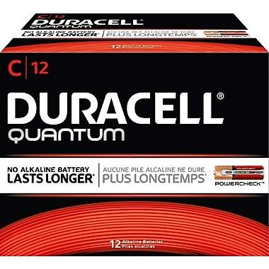 Duracell® Quantum C Batteries, 12/Pack