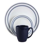 Corelle 16 Piece Dinnerware Set; Blue
