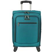 Traveler's Choice Lightweight 22'' Spinner Suitcase; Peacock Green