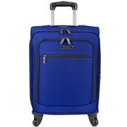 Traveler's Choice Lightweight 22'' Spinner Suitcase; Cobalt Blue