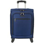 Traveler's Choice Lightweight 22'' Spinner Suitcase; Navy