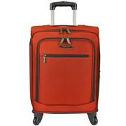 Traveler's Choice Lightweight 22'' Spinner Suitcase; Orange
