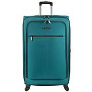 Traveler's Choice Lightweight 31'' Spinner Suitcase; Peacock Green