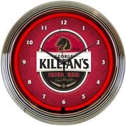 Neonetics 15'' Killians Irish Beer Neon Clock