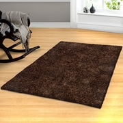 Simple Luxury Superior Hand-Woven Cocoa Area Rug; 5' x 8'