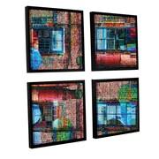 ArtWall 'Crayola Works' by Vlad Bubnov 4 Piece Framed Graphic Art Set; 48'' H x 48'' W x 2'' D