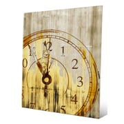 Click Wall Art 'Stain Clock Buff' Graphic Art; 14'' H x 11'' W x 0.04'' D