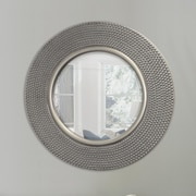 Selections by Chaumont Round Hammered Wall Mirror