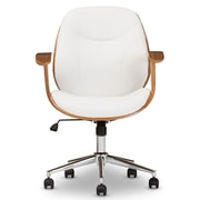 Wholesale Interiors Baxton Studio Task Chair with Arms; White
