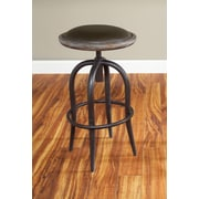 Largo Whitney Adjustable Height Bar Stool; 30''