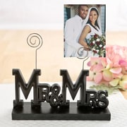 FashionCraft Mr & Mrs Picture Frame