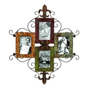 ABCHomeCollection Verdigris Patina Textured Iron Wall Picture Frame
