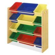 Whitmor, Inc Small Parts 4 Compartment Cubby